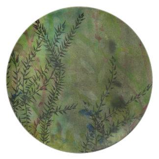 Moody Garden Plate