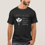 Moody Girl - Staring Contest T-Shirt