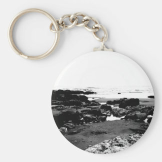 Moody Landscape Basic Round Button Keychain