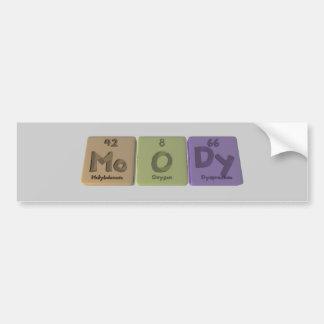 Moody-Mo-O-Dy-Molybdenum-Oxygen-Dysprosium.png Bumper Sticker