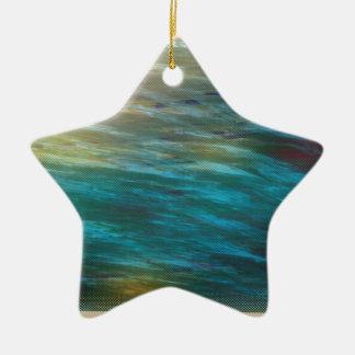 Moody Ocean Breeze Ceramic Ornament