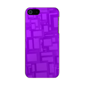 Moody Purple Abstract Art Metallic Phone Case For iPhone SE/5/5s