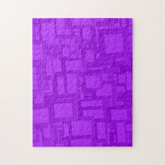 Moody Purple Abstract Art Jigsaw Puzzle