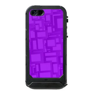 Moody Purple Abstract Art Waterproof Case For iPhone SE/5/5s