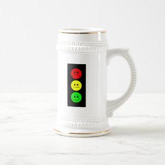 Moody Stoplight 18 Oz Beer Stein