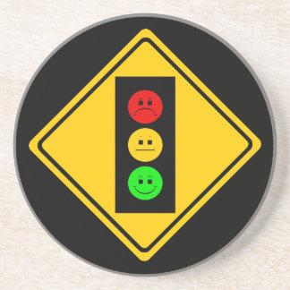 Moody Stoplight Ahead Coaster