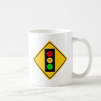 Moody Stoplight Ahead Coffee Mug