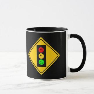 Moody Stoplight Ahead Mug