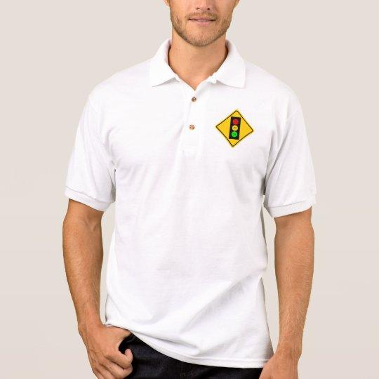 Moody Stoplight Ahead Polo Shirt