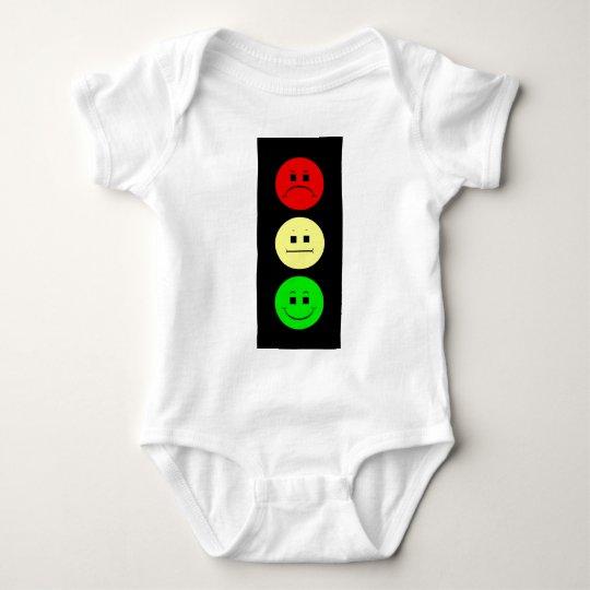 Moody Stoplight Baby Bodysuit