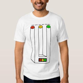 Moody Stoplight Blivet with Caption Shirt