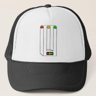 Moody Stoplight Blivet with Caption Trucker Hat