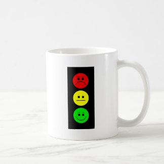 Moody Stoplight Classic White Coffee Mug