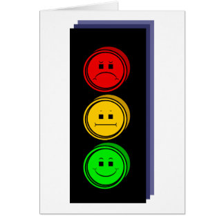 Moody Stoplight Extruded Card