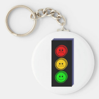 Moody Stoplight Extruded Keychains