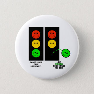 Moody Stoplight Geniuses Think Outside The Box Button