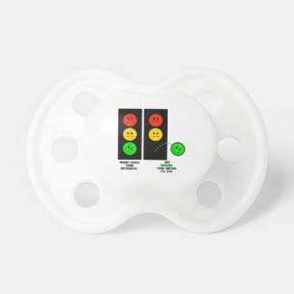 Moody Stoplight Geniuses Think Outside The Box Pacifier
