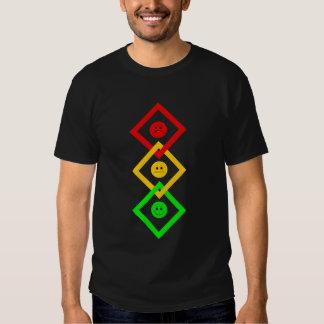 Moody Stoplight Interlinked T Shirt