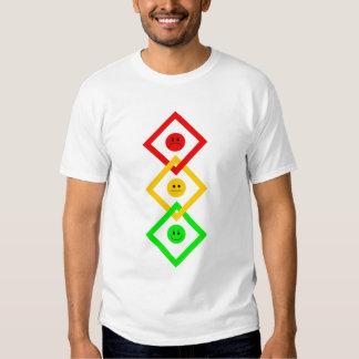 Moody Stoplight Interlinked Tee Shirt