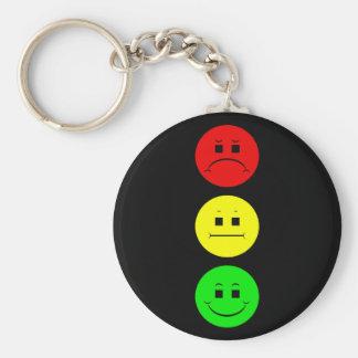 Moody Stoplight Keychain