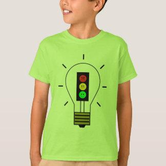Moody Stoplight Lightbulb T-Shirt