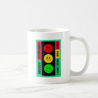 Moody Stoplight Logo Coffee Mug