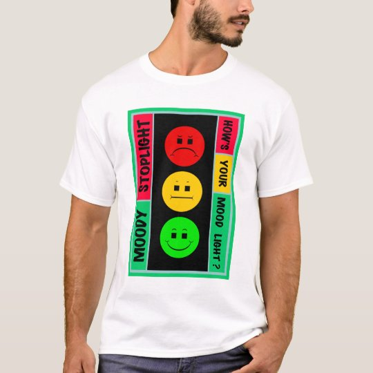 Moody Stoplight Logo T-Shirt