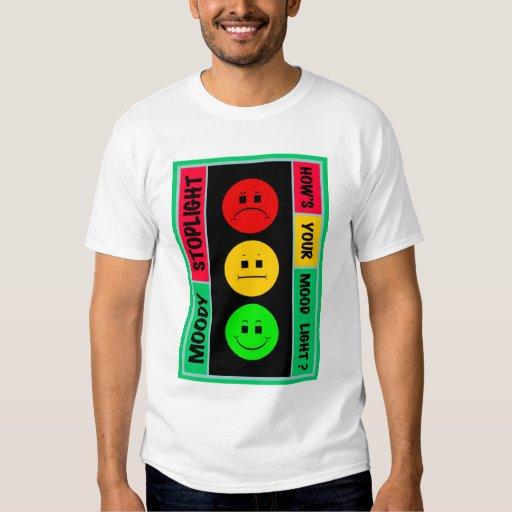 Moody Stoplight Logo T-shirts