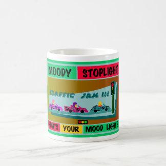 Moody Stoplight Logo Traffic Jam Coffee Mug