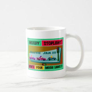 Moody Stoplight Logo Traffic Jam Classic White Coffee Mug