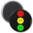 Moody Stoplight Magnet