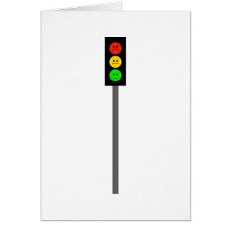 Moody Stoplight on Pole Card