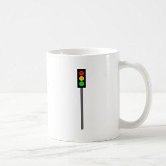 Moody Stoplight on Pole Coffee Mug