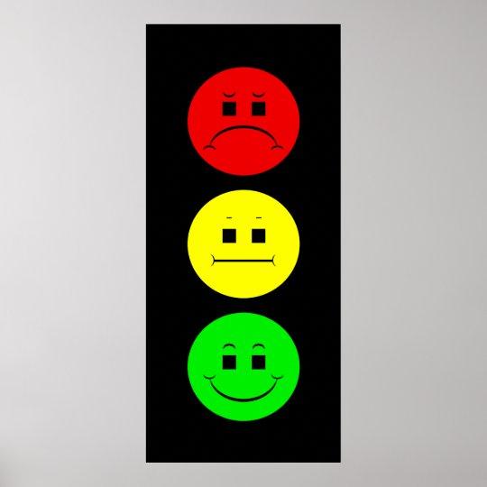 Moody Stoplight Poster