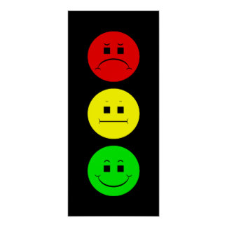 Moody Stoplight Posters