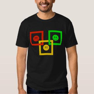 Moody Stoplight Squarely Interlinked T-shirt