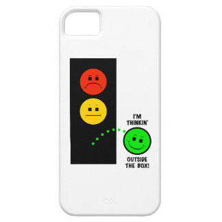 Moody Stoplight Thinking Outside The Box iPhone SE/5/5s Case