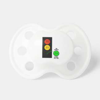 Moody Stoplight Thinking Outside The Box Pacifier