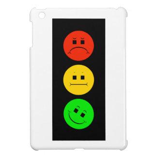 Moody Stoplight Tilted Green iPad Mini Covers