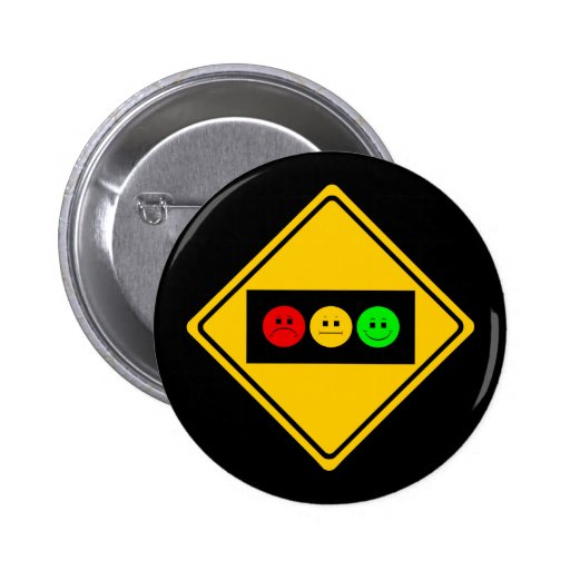 Moody Stoplight Trio Ahead Buttons