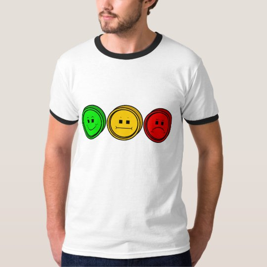 Moody Stoplight Trio Buttons T-Shirt