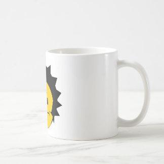 Moody Stoplight Trio Charlie Yellobellow Face Classic White Coffee Mug