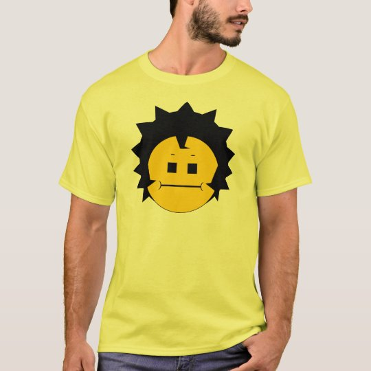 Moody Stoplight Trio Charlie Yellobellow Face T-Shirt