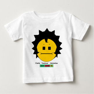 Moody Stoplight Trio Charlie Yellobellow Face w Lb Baby T-Shirt