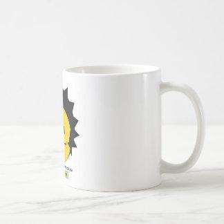 Moody Stoplight Trio Charlie Yellobellow Face w Lb Classic White Coffee Mug