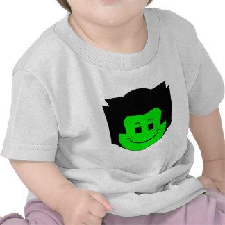 Moody Stoplight Trio Gordy Greenfalloon Face T-shirts