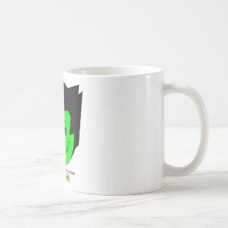 Moody Stoplight Trio Gordy Greenfalloon Face w Lbl Classic White Coffee Mug