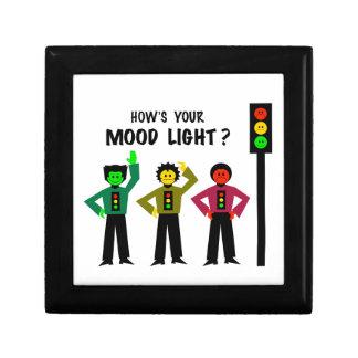 Moody Stoplight Trio How's Your Mood Light Jewelry Box