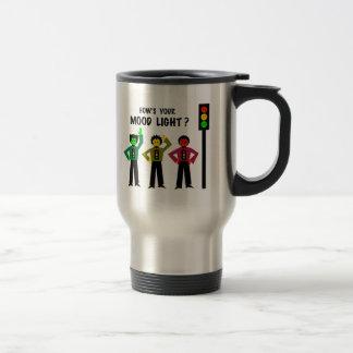 Moody Stoplight Trio How's Your Mood Light Travel Mug