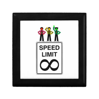 Moody Stoplight Trio Infinite Speed Limit Keepsake Box